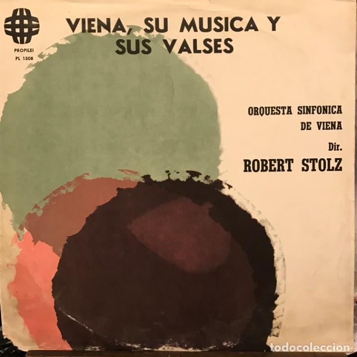 LP ARGENTINO DE LA ORQUESTA SINFÓNICA DE VIENA AÑO 1968 (Música - Discos - LP Vinilo - Clásica, Ópera, Zarzuela y Marchas)