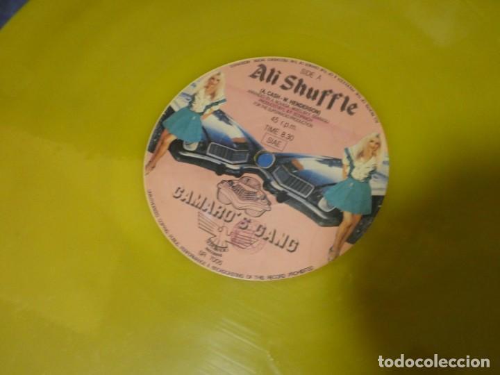 EXPRO MAXI 12 PULGADAS ITALIA 82 CAMARO´S GANG SUPER SHUFFLE BUEN ESTADO VINILO AMARILLO (Música - Discos - LP Vinilo - Jazz, Jazz-Rock, Blues y R&B)