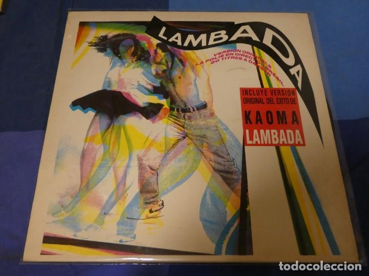 EXPRO DOBLE LP DESDE UN EURO A TU RIESGO LAMBADA VARIOS ARTISTAS MUCHIIIIIISIMA TRALLA (Música - Discos - LP Vinilo - Jazz, Jazz-Rock, Blues y R&B)