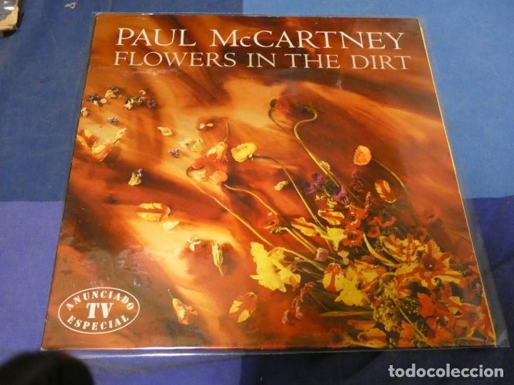 EXPRO LP PAUL MC CARTNEY FLOWERS IN THE DIRT BUEN ESTADO GENERAL 23 (Música - Discos - LP Vinilo - Jazz, Jazz-Rock, Blues y R&B)