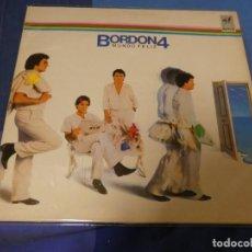 Discos de vinilo: EXPRO LP BORDON 4 UN MUNDO FELIZ 1984 MUY OPTIMO ESTADO GENERAL. Lote 247241970