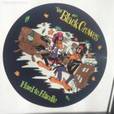 Discos de vinil: THE BLACK CROWES -HARD TO HANDLE-JEALOUS AGAIN-TWICE AS HARD - PICTURE DISC-MAXI-RARO-NUEVO-1990. Lote 247242115