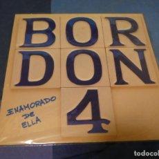 Discos de vinilo: EXPRO LP BORDON 4 ENAMORADO DE ELLA LEVES SEÑALES DE USO AUN CORRECTISIMO. Lote 247262895