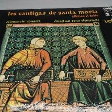 Discos de vinilo: LAS CANTIGAS DE SANTA MARIA VOL. 2- CLEMENCIC CONSORT. Lote 247264735