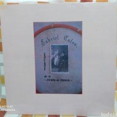 Discos de vinilo: GABRIEL CALVO–CANCIONES DE LA SIERRA DE FRANCIA . LP VINILO PERFECTO ESTADO. MÚSICA CHARRA.. Lote 247273060