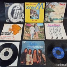 Discos de vinilo: 9 DISCOS DISTINTOS AUTORES. SINGLES. Lote 247277125