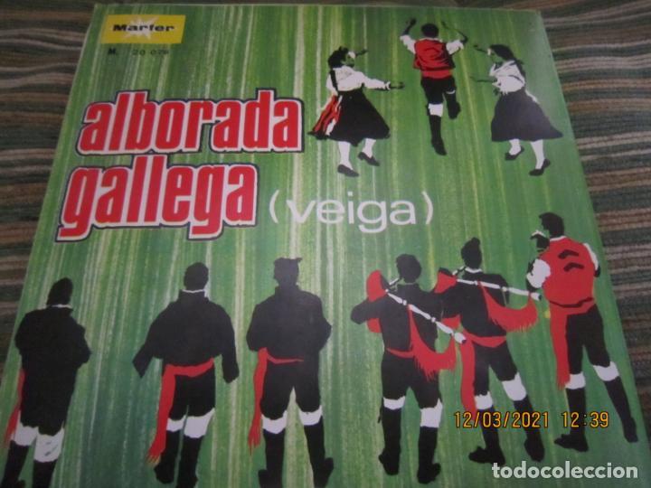 Discos de vinilo: CONJUNTO TIPICO - ALBORADA GALLEGA (VEIGA) SINGLE - ORIGINAL ESPAÑOL - MARFER RECORDS 1969 - MONO - - Foto 2 - 247296570