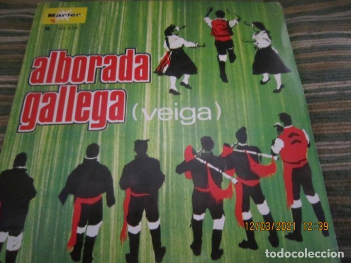 Discos de vinilo: CONJUNTO TIPICO - ALBORADA GALLEGA (VEIGA) SINGLE - ORIGINAL ESPAÑOL - MARFER RECORDS 1969 - MONO - - Foto 5 - 247296570