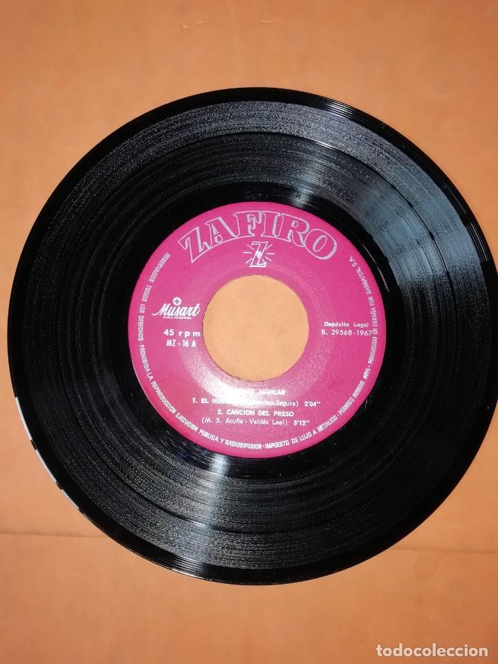 Discos de vinilo: ANTONIO AGUILAR. EL HUERFANO. ZAFIRO 1967 - Foto 3 - 247297220