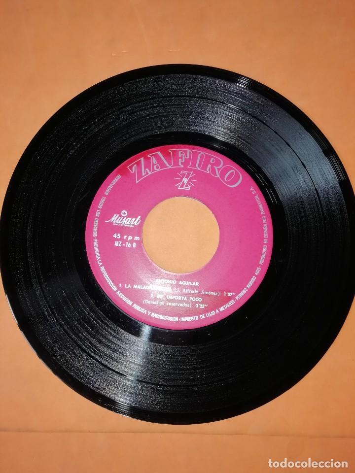 Discos de vinilo: ANTONIO AGUILAR. EL HUERFANO. ZAFIRO 1967 - Foto 4 - 247297220