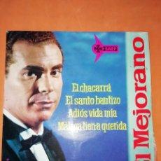 Discos de vinilo: EL MEJORANO. EL CHACARRA. SAEF 1962. Lote 247300165