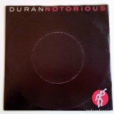 Discos de vinilo: DURAN DURAN – NOTORIOUS / WINTER MARCHES ON HOLANDA,1986 EMI. Lote 247308040