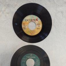 Discos de vinilo: JULIO IGLESIAS. 2 SINGLES VINILO. Lote 247310550