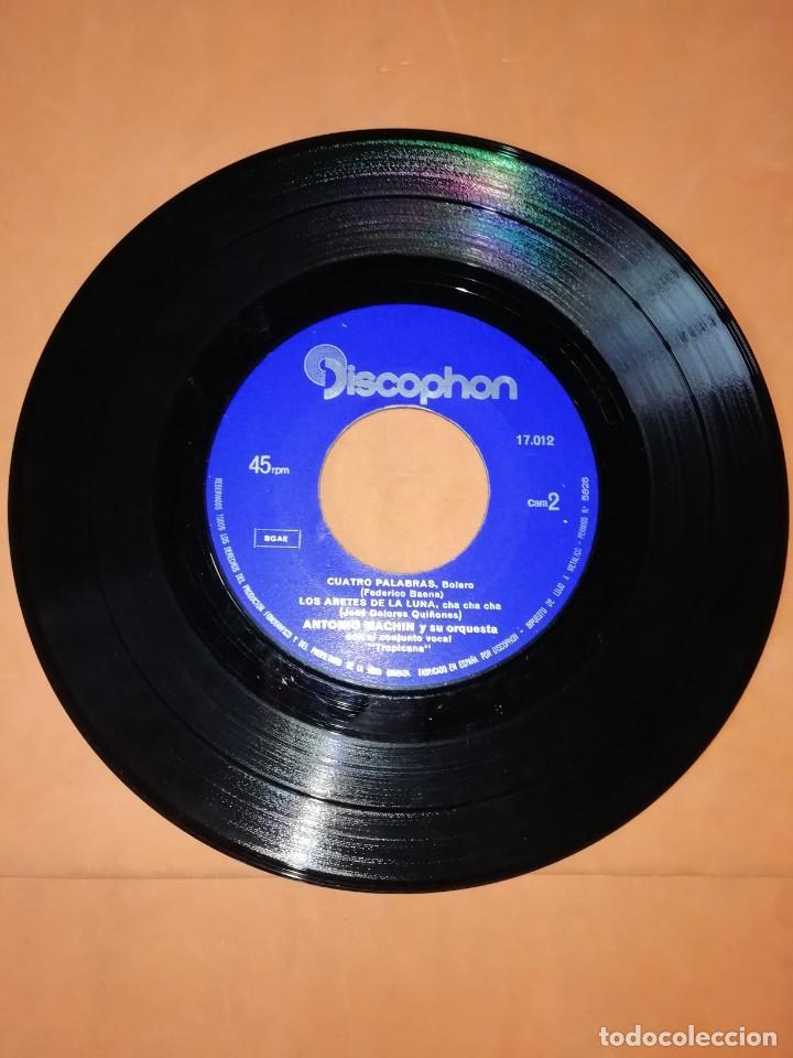 Discos de vinilo: ANTONIO MACHIN & TROPICANA . EL MANISERO. DISCOPHON 1960 - Foto 3 - 247313350