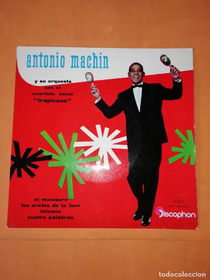 ANTONIO MACHIN & TROPICANA . EL MANISERO. DISCOPHON 1960 (Música - Discos de Vinilo - EPs - Grupos y Solistas de latinoamérica)
