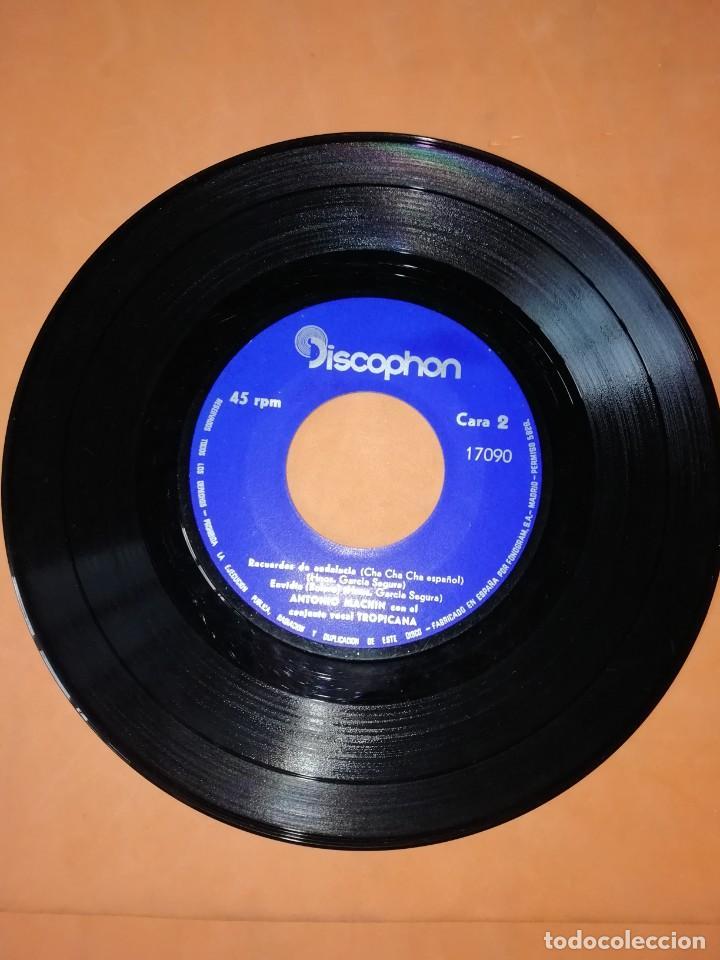 Discos de vinilo: ANTONIO MACHIN & TROPICANA . CON LOS BRAZOS ABIERTOS. DISCOPHON 1960 - Foto 4 - 247314625