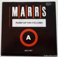 Discos de vinilo: M|A|R|R|S – PUMP UP THE VOLUME / ANITINA (THE FIRST TIME I SEE SHE DANCE) SCANDINAVIA,1987 4AD. Lote 247317715