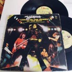 Discos de vinilo: WHISTESNAKE-LP DOBLE EN DIRECTO-CANTOS DETERIORADOS. Lote 247321355