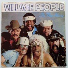 Discos de vinilo: VILLAGE PEOPLE – IN THE NAVY / MANHATTAN WOMAN SWEDEN,1979 ARRIVAL RECORDS. Lote 295843648