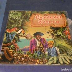 Discos de vinilo: EXPRO LP DISCO CUENTO LA ISLA DEL TESORO 1968 GRAAAN ESTADO DE VINILO. Lote 247332260