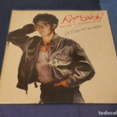 Discos de vinilo: EXPRO LP RAMONCIN LA VIDA EN EL FILO GATEFOLD PORTADA NORMALITA VINILO MUY BUEN ESTADO. Lote 247335560