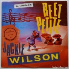 Discos de vinilo: JACKIE WILSON – REET PETITE SCANDINAVIA,1987 MEGA RECORDS. Lote 247339980