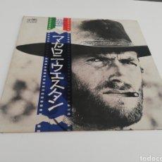Discos de vinilo: VINILO EDICIÓN JAPONESA LP WESTERN CINEMA THEME MUSICS ( ALGÚN TEMA DE ENNIO MORRICONE ). Lote 247345650
