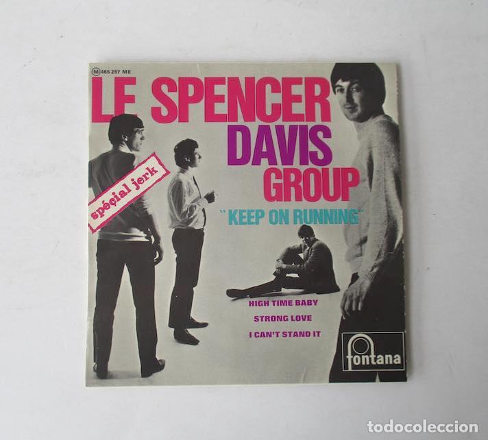 LE SPENCER DAVIS GROUP KEEP ON RUNNING- EP FONTANA 1965 (Música - Discos de Vinilo - EPs - Pop - Rock Internacional de los 50 y 60)