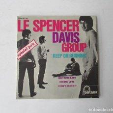 Discos de vinilo: LE SPENCER DAVIS GROUP KEEP ON RUNNING- EP FONTANA 1965. Lote 247350610