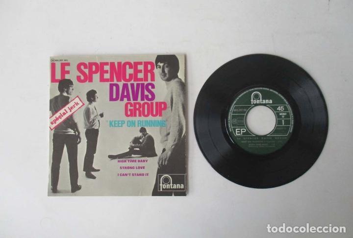 Discos de vinilo: LE SPENCER DAVIS GROUP KEEP ON RUNNING- EP FONTANA 1965 - Foto 2 - 247350610