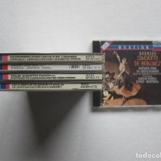 Discos de vinilo: PACK 5 CLÁSICA - RACHMANINOV, SCHUBERT, FALLA, VIVALDI Y RODRIGO - DECCA. Lote 247351520