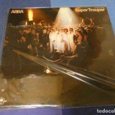 Discos de vinilo: EXPRO LP ABBA SUPER TROUPER ESPAÑA 1980 ESTADO CORRECTO DE VNILO. Lote 247358750