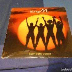 Discos de vinilo: EXPRO LP BONEY M BOONONOONOONOOS ESTADO GENERAL CORRECTO. Lote 247360215