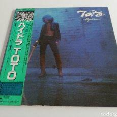 Discos de vinilo: VINILO EDICIÓN JAPONESA DEL LP DE TOTO - HYDRA. Lote 247385410