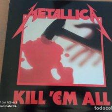 Discos de vinilo: METALLICA KILL ´EM ALL LP VINILO. Lote 287885298