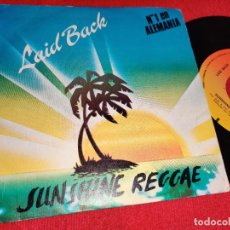 Dischi in vinile: LAID BACK LAIDBACK SUNSHINE REGGAE/WHITE HORSE 7'' SINGLE 1983 CBS ESPAÑA SPAIN. Lote 247407610