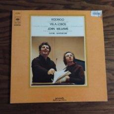 Discos de vinilo: DISCO LP DE VINILO 1974 CONCIERTO DE ARANJUEZ RODRIGO, CONCERTO FOR GUITAR VILLA-LOBOS JOHN WILLIAMS. Lote 247420590