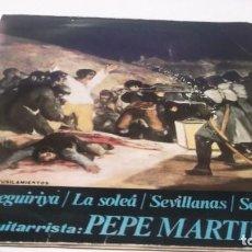 Discos de vinilo: DISCOPHON AÑO 1964 -ÁLBUN Nº 3 .GUITARRA -SEGUIRILLA/SOLEÁ/SEVILLANAS/SERRANAS/GUIT.PEPE MARINEZ. Lote 247425335