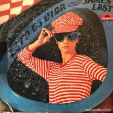 Discos de vinil: LP ARGENTINO DE JAMES LAST Y SU ORQUESTA AÑO 1968. Lote 247438735