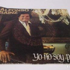 Discos de vinilo: ALFONSO SAINZ / YO NO SOY POETA / BRISA DE VERANO (SINGLE MOVIEPLAY AÑO 1982). Lote 247450335
