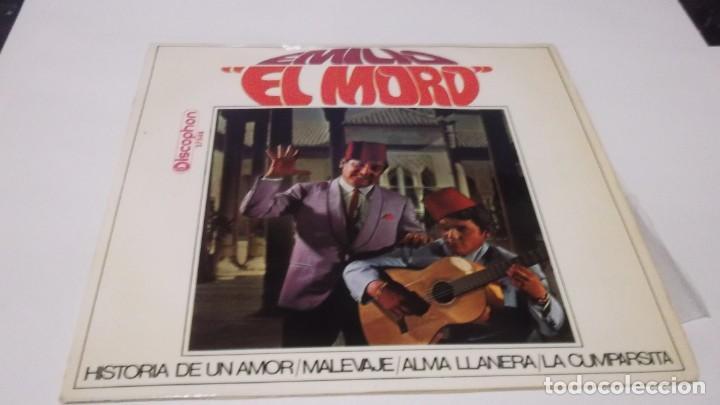 EMILIO EL MORO - HISTORIA DE UN AMOR /MALEVAJE /ALMA LLANERA /CUMPARSITA - EP 1968 (Música - Discos de Vinilo - EPs - Flamenco, Canción española y Cuplé)