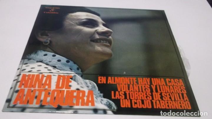 NIÑA DE ANTEQUERA / EN ALMONTE HAY UNA CASA /LAS TORRES DE SEVILLA + 2 (EP 1971) (Música - Discos de Vinilo - EPs - Flamenco, Canción española y Cuplé)