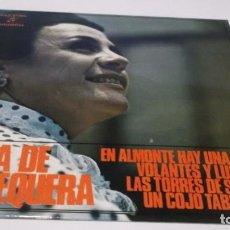 Discos de vinilo: NIÑA DE ANTEQUERA / EN ALMONTE HAY UNA CASA /LAS TORRES DE SEVILLA + 2 (EP 1971). Lote 247450930