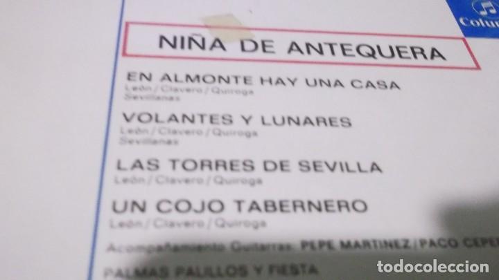 Discos de vinilo: NIÑA DE ANTEQUERA / EN ALMONTE HAY UNA CASA /LAS TORRES DE SEVILLA + 2 (EP 1971) - Foto 2 - 247450930
