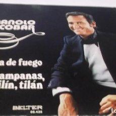 Discos de vinilo: MANOLO ESCOBAR - LA NIÑA DE FUEGO /CAMPANAS TILIN TILAN ´- SINGLE BELTER 1974. Lote 247456680