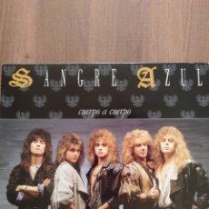 """Discos de vinilo: SANGRE AZUL """" CUERPO A CUERPO"""" EDICIÓN ORIGINAL. 1988. HISPAVOX. Lote 247456805"""
