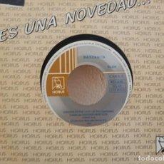 Discos de vinilo: MANZANITA - CANCIÓN DE PAZ + A MI SEÑOR - DISCOS HORUS (1993). Lote 247521380
