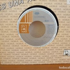 Discos de vinilo: LA CANASTERA - EL GITIFU + YO ME QUEDO EN SEVILLA - DISCOS HORUS (1991). Lote 247521815