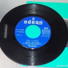 Discos de vinilo: THE BEATLES ----I FEEL FINE -- 1ª EDICION 1964 ---LABEL AZUL FUERTE -- ( VG+ ) SOLO VINILO. Lote 247523235