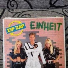 Discos de vinilo: ZIP ZAP - EINHEIT. Lote 247527015